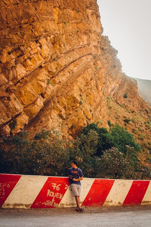 Tighza Valley and Atlas Mountains