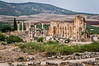 Ruins of the Roman Volubilis near Moulay Idriss, Morocco.