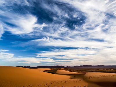 desert Skys sahara desert Morocco
