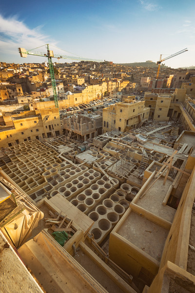 Fez Tanneries Getting a Face Lift
