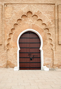 Ornate Door, Koutoubia Mosque, Marrakech