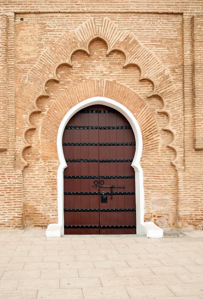 Ornate Door, Koutoubia Mosque, Marrakech