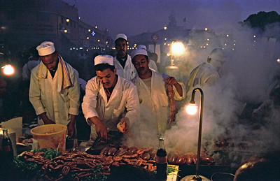 Food Stalls, Djemaa el-Fna, Marrakech