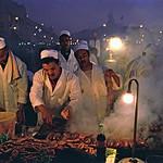 Food Stalls, Djemaa el-Fna, Marrakech