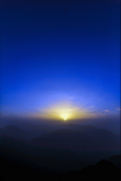 Sunrise on Mount Toubkal
