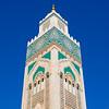 Minaret of Hassan II Mosque, Casablanca