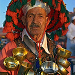 Water-seller, Marrakech, Morocco