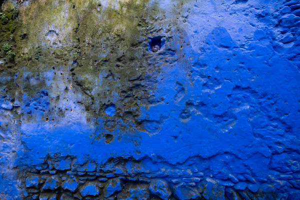 Textures of Blue and Mold, Chefchouen
