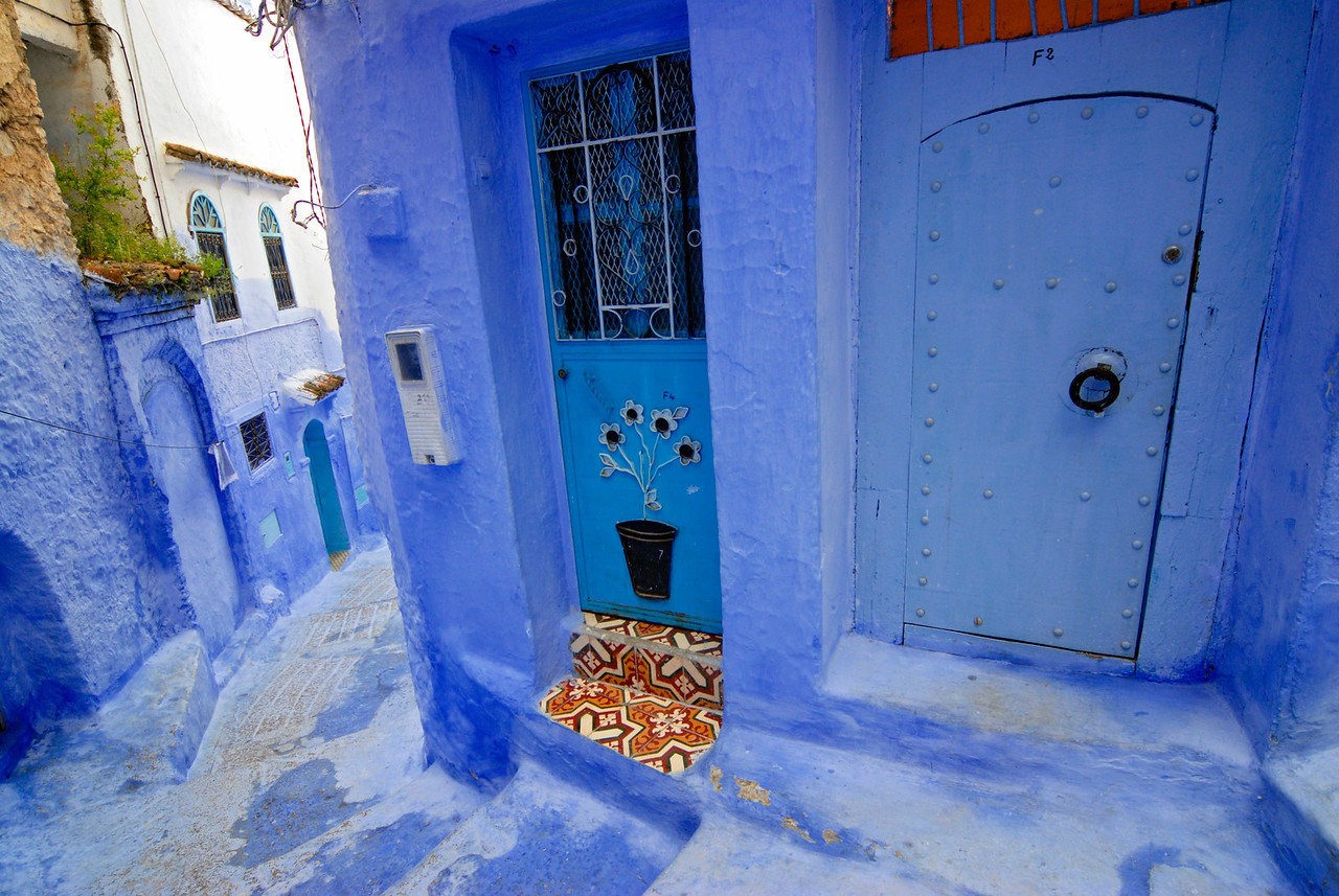 Blue and White Chefchaouen