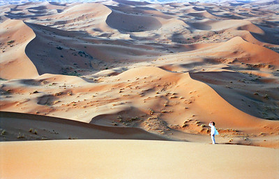 Sand Dunes, Erg Chebbi