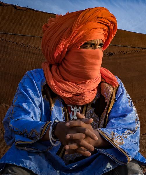 Berber Guide – Sahara Camp – Morocco