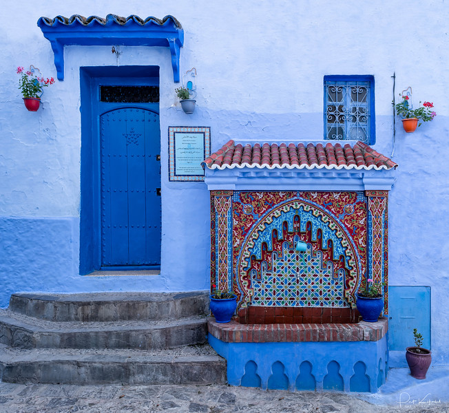 Fountain - Chefchaouen