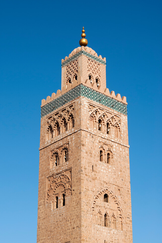 Minaret of Koutoubia Mosque, Marrakech