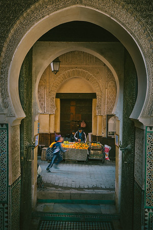 Oranges on the Streets of Fez