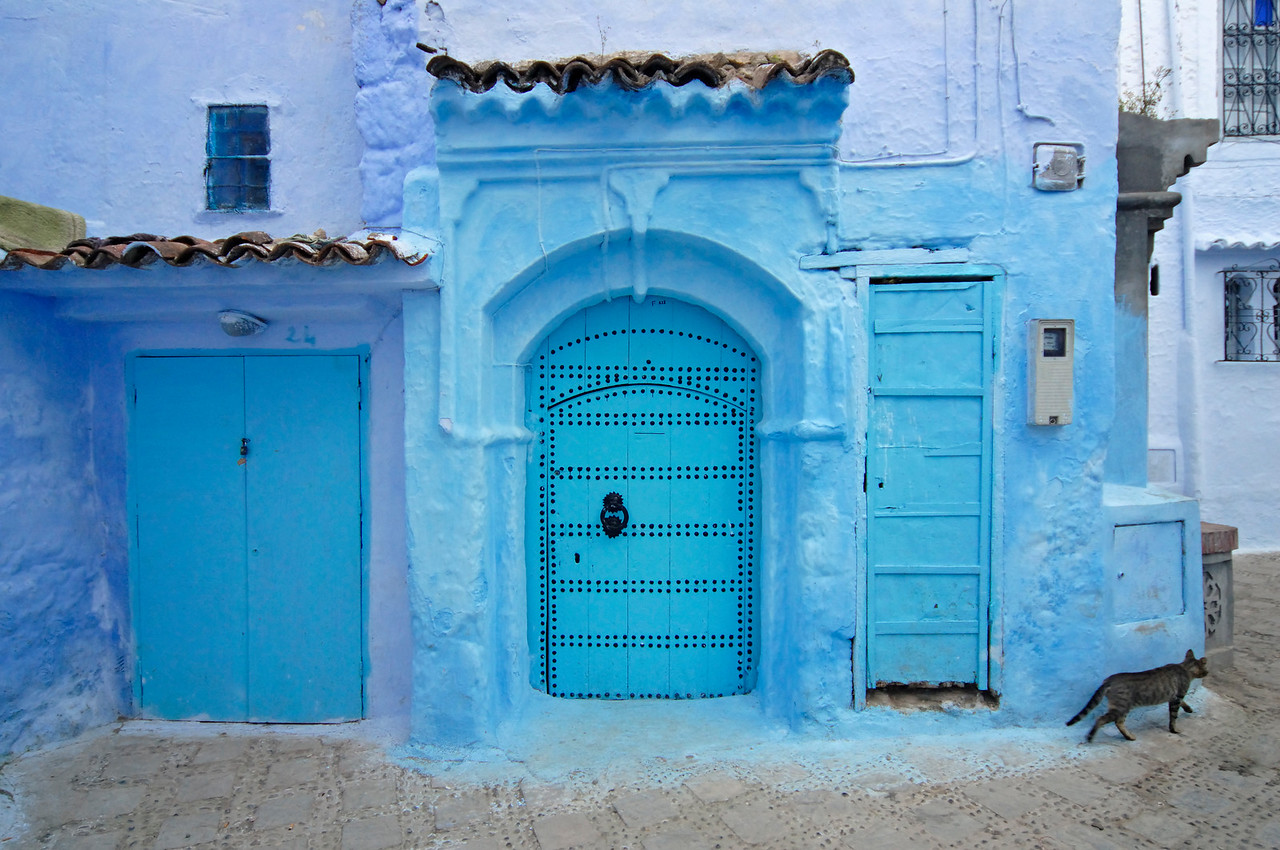 Blue and White Medina of Chefchaouen