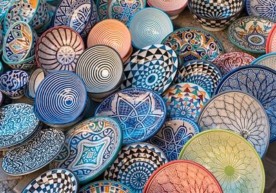 Colourful Plates, Morocco