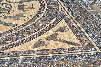 animal illustrations-mosaic art