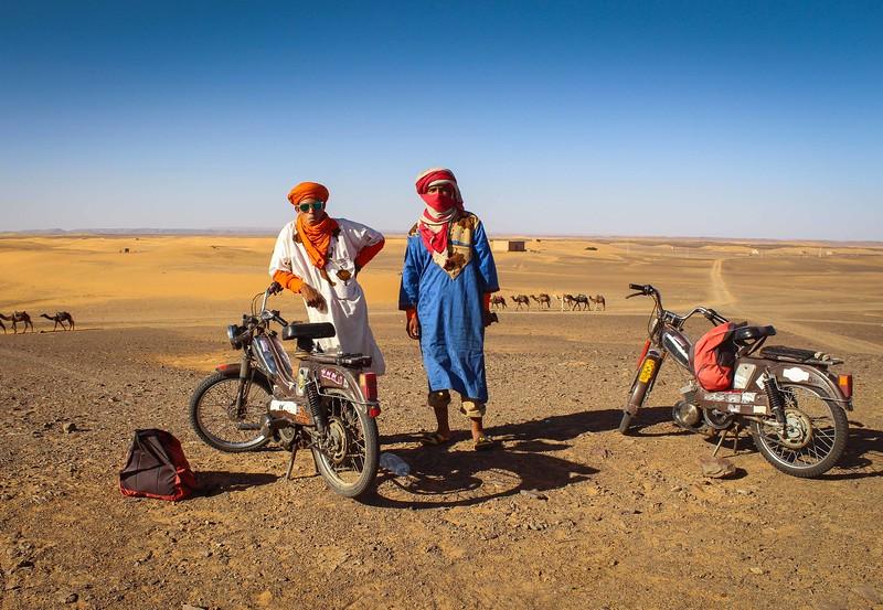 """Caregivers of the Caravan"" – Erg Chebbi Region of the Sahara Desert"