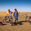 """Caregivers of the Caravan"" – Erg Chebbi Region of the Sahara Desert"