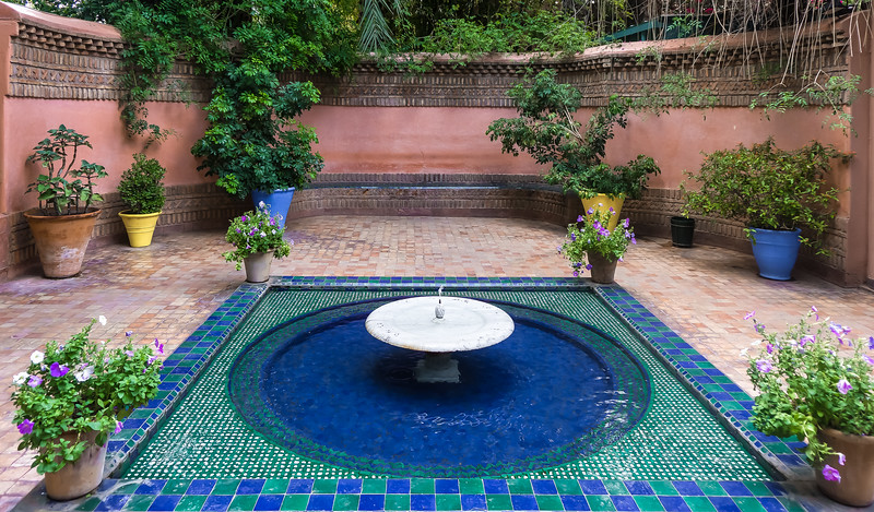Fountain – Majorelle Garden