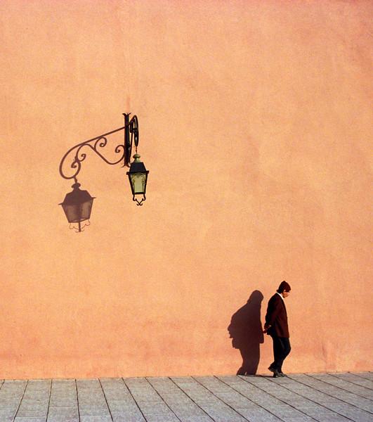 Pink Walls of Marrakech Medina