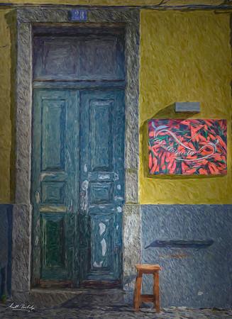 Door and chair, Lisbon
