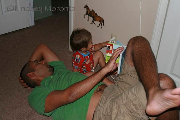 Luca & Daddy 8.16.2010