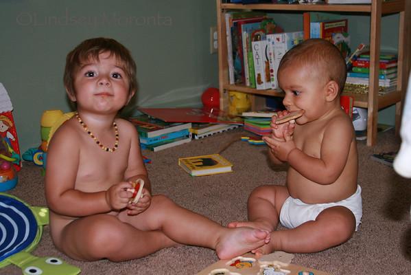 Luca & Oliver 6.15.10 (8 months)