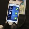 MorphoTrust app for driver's license verification. 3rd of 3. (SUN/Julia Malakie)