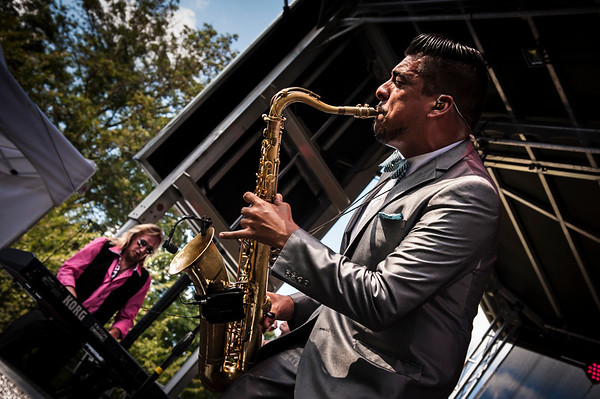 Sax Player - Louis Prima Jr. Band