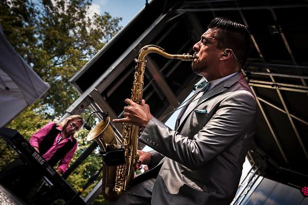 Sax Player - Louis Prima Jr. Band