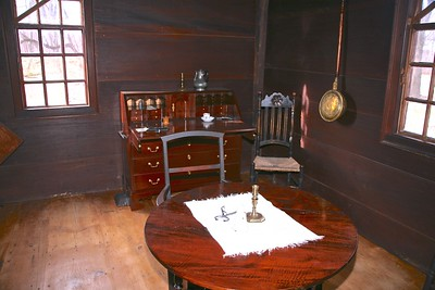 Bedroom used by General Sinclair During The Continental Army Winter Encampment