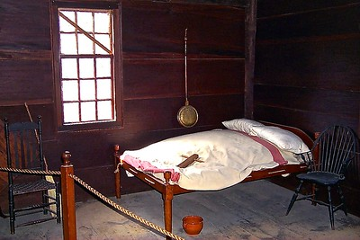 Bedroom in The Wick House