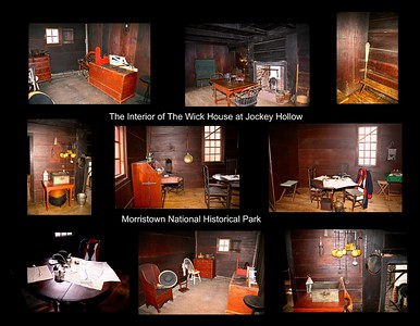 Interior of the Wick House at Jockey Hollow