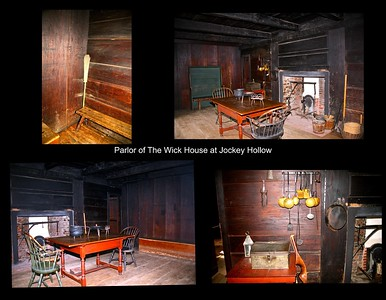 The Parlor of the Wick House at Jockey Hollow