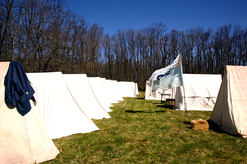 The Reenactment of the Morristown Encampment