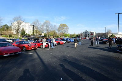 Morrisville NC Cars and Coffee, April 14, 2018