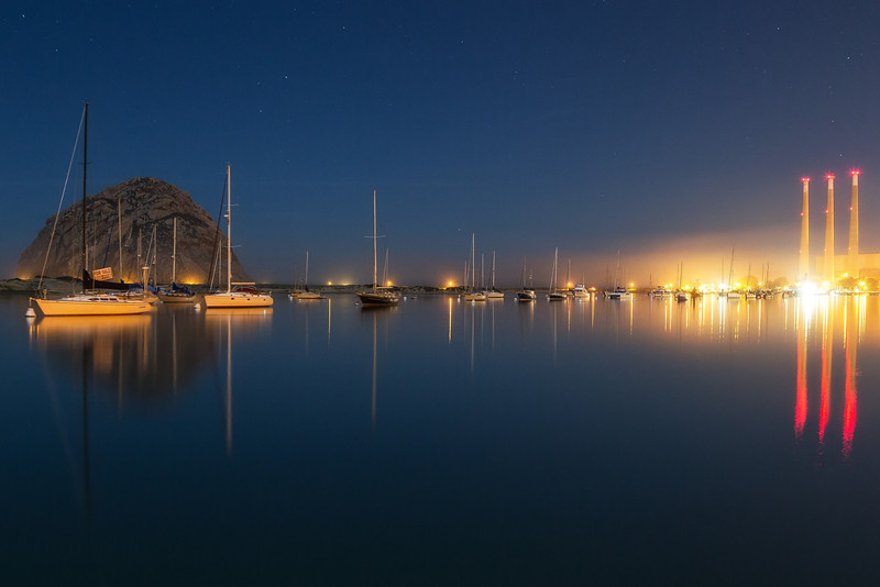 Morro Bay Skyline