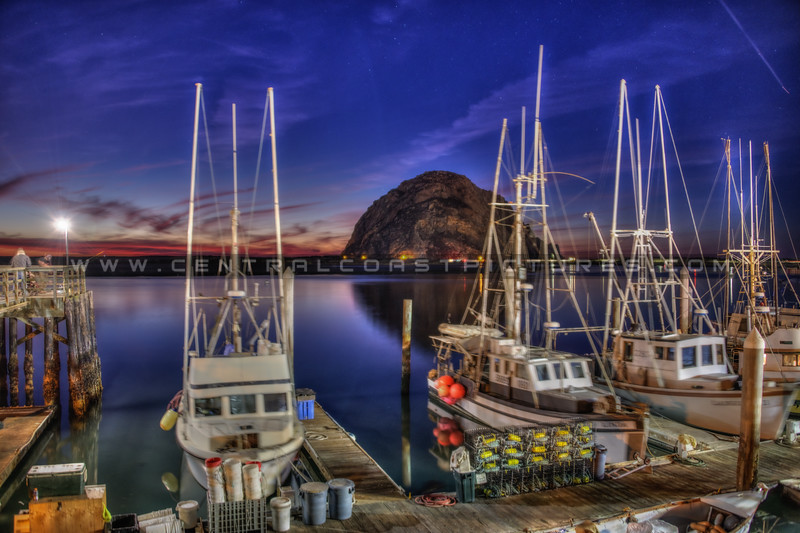 morro bay night boats 3215