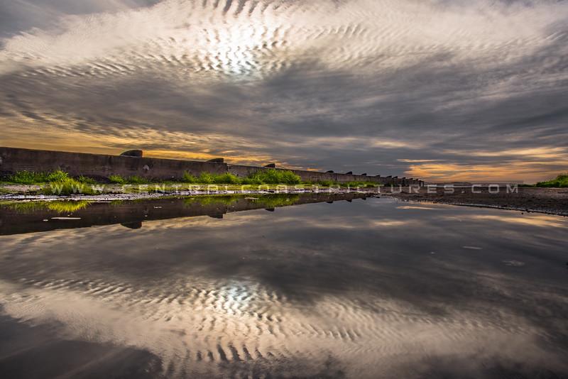 morro bay puddle reflection 4930-4930