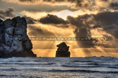 morro bay sunrays 3182