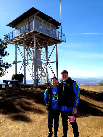 Morton Peak Firetower Hike, Mentone CA December 2, 2018