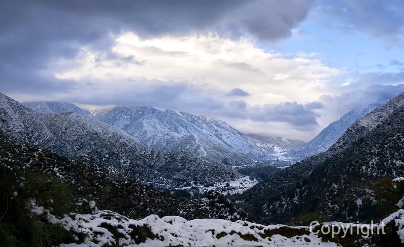 Morton Peak Trail View