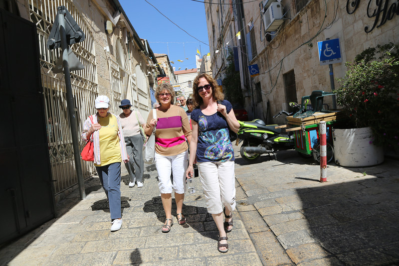 walking through the old city