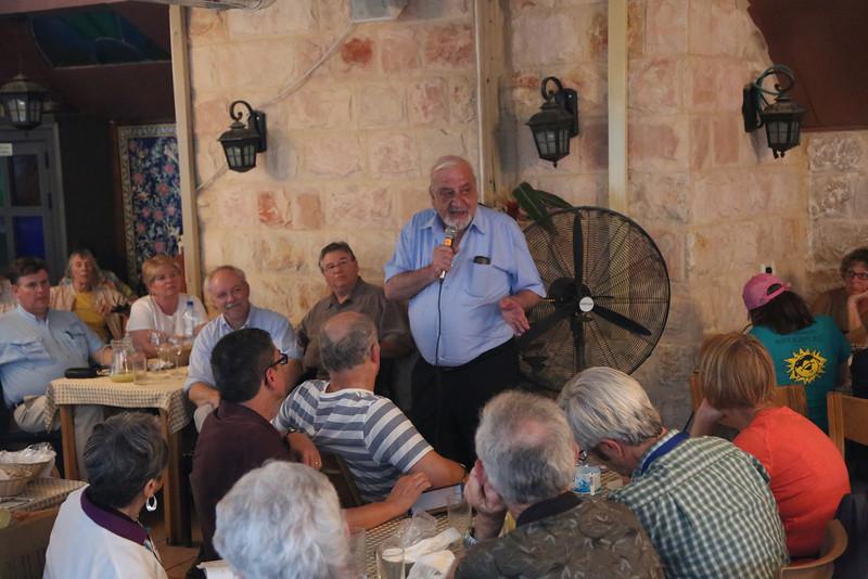 Dr. Albert Aghazarian, retired professor from Bir Zeit University