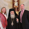 Sara Lisherness, His Beatitude Patriarch Theolpholis III, Doug Dicks