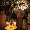 Inside the Church of the Holy Sepulcher - Golgotha