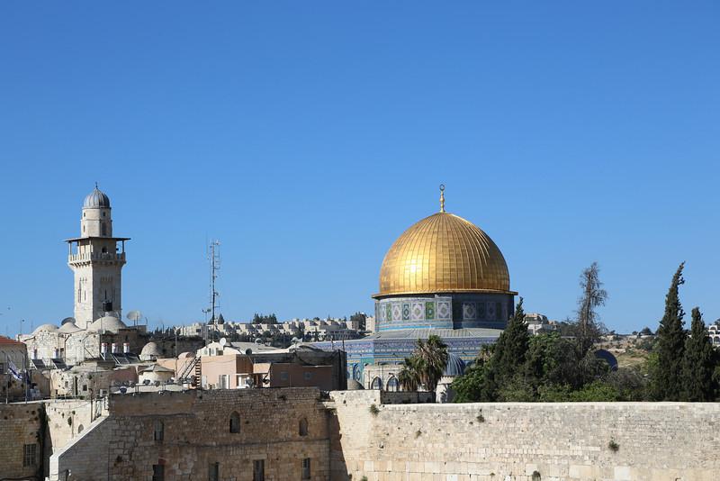 Jerusalem view - the temple mount