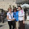 Kathy Francis, Brenda Halbrooks at the Western Wall