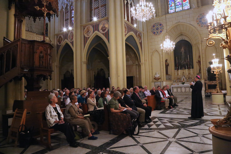His Beatitude Patriarch Fouad Twal addresses the Mosaic of Peace Conference